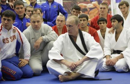 Putin Strongman